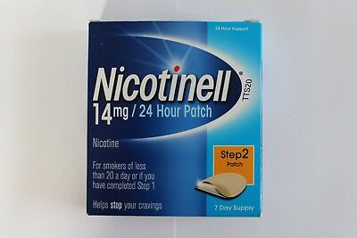 Nicotinell Step 2 14mg Nicotine 24H Patch - 7 Day Supply
