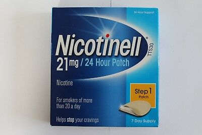 Nicotinell Step 1 21mg Nicotine 24H Patch - 7 Day Supply
