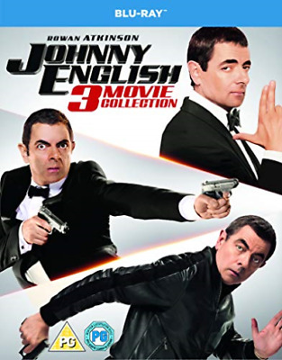 Johnny English 3 Movie Collection BLU-RAY NEUF