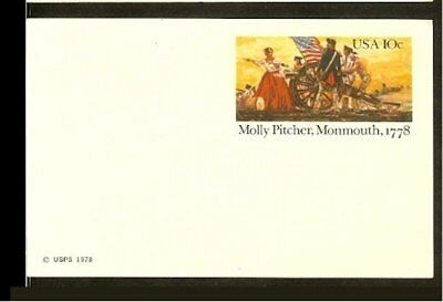1978 - USA Card - 10c imprint - Molly Pitcher, Monmouth 1778 [NL407_31]