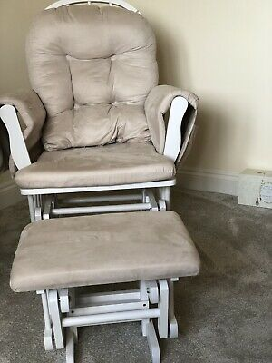 Strange John Lewis Reclining Glider Nursing Chair And Footstool Pabps2019 Chair Design Images Pabps2019Com