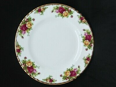 Vintage Royal Albert Old Country Roses Dinner Plate 10.5""