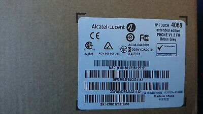 Poste IP Alcatel Lucent 4068 Iptouch Extented Édition Urban Grey v1.2 fr