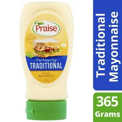 Praise Traditional Squeezable Mayonnaise 365g