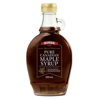 Queen Pure Canadian Maple Syrup 250mL