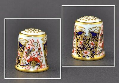 Royal Crown Derby Thimble - The Traditional Imari