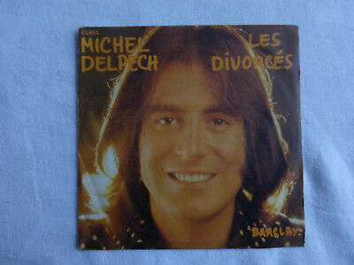 michel delpech-les divorcés-SP 45 tours