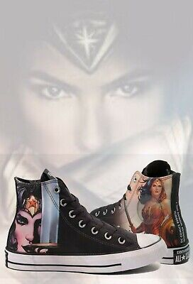91c797c47de Converse Chuck Taylor All Star Hi DC Comics Wonder Woman Sneaker Womens  Size 10