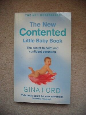 The New Contented Little Baby Book by Gina Ford - paperback book