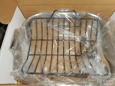 All-Clad Metal Crafters Stainless Roti Roasting Pan & Lifting Forks In The Box