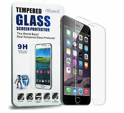 Glass Screen Protector For Apple iPhone 6 & 6S Plus - 100% Genuine Tempered