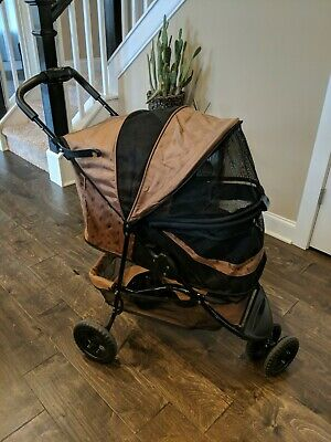 Pet Gear No-Zip Pet Stroller, with Zipperless Entry / Rugged Dog Stroller