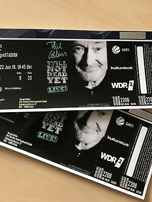 2 Tickets Phil Collins - Köln 22.06.19, RheinEnergieStadion