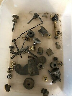 Antique. CLock  Parts Spares Or Repairs