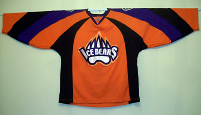 KNOXVILLE ICE BEARS Hockey Jersey SPHL Huggett -  129.00  8dec4af3a6c