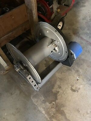 Hannay Hose Reel Model P56AN233 With Motor See Pictures!