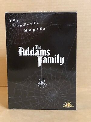 The Addams Family - Complete Series (DVD, 2007, 9-Disc Set) BOX SET