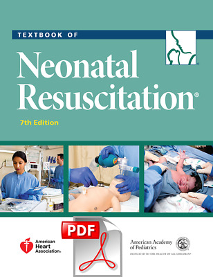 Textbook of Neonatal Resuscitation NRP 7th Edition (PDF/EPUB) fast delivery