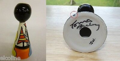 Signed Lorna Bailey - Conical Pepper Pot