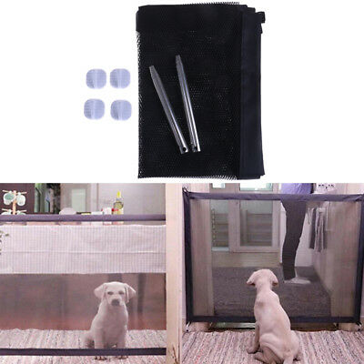 Portable folding magic safety dog gate guard mesh isolation net for puppy pet HF