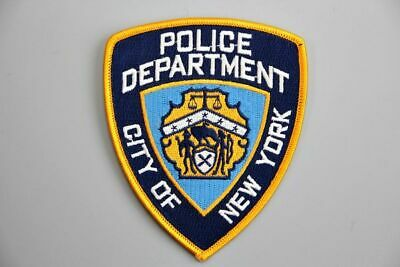 Embroidery Iron Patch US New York Police Badge Symbol