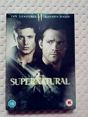 Supernatural - Season 11 DVD 2016 Mint Condition Like New Sam Dean