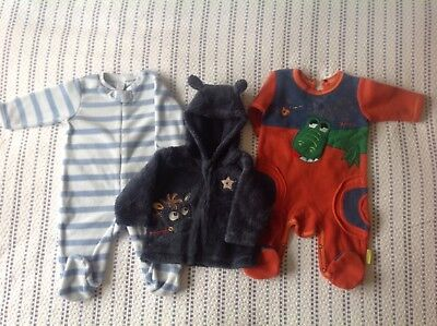 Baby Boy Clothes Bundle 3-6 Months Fleecy Next Warm Winter Great Condition