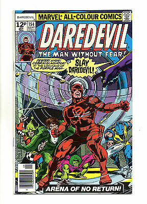 Daredevil Vol 1 No 154 Sep 1978 (VFN+) Marvel Comics, Bronze Age (1970 - 1979)
