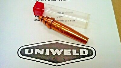 Uniweld, Airco Type Seat,cutting Tip, 164-#0, Welding, Brazing, 7-Hole