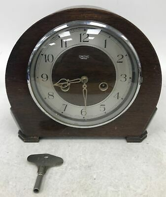 Smiths of Enfield Chiming Mantle Clock With Key #910