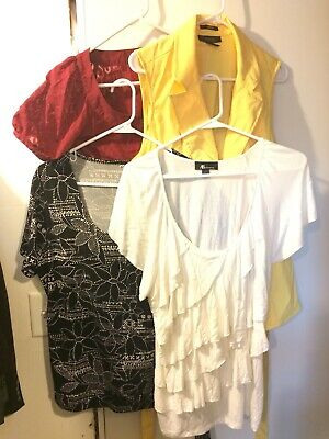 86c105c50c6c3 LOT OF 2 Womens Shirts Summer Tops Charter Club   Old Navy Sz XL ...