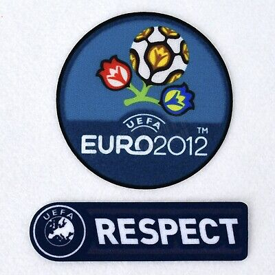 Uefa EURO 2012 Set Player Issue Patches Sporting ID Shirt Jersey