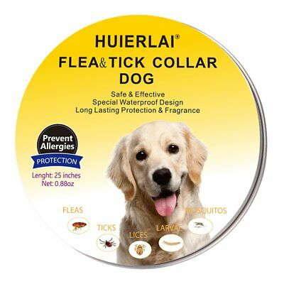 HUIERLAI flea and tick Collar prevention for dogs - 8 Months Protection
