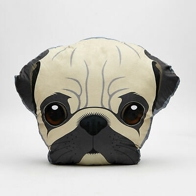 City Beach Mooloola Pug Pillow