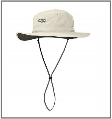 8d8b84d9c OUTDOOR RESEARCH NEW HELIOS SUN HAT in SAND Size Large L with 50+ UPF  fREEsHIP!