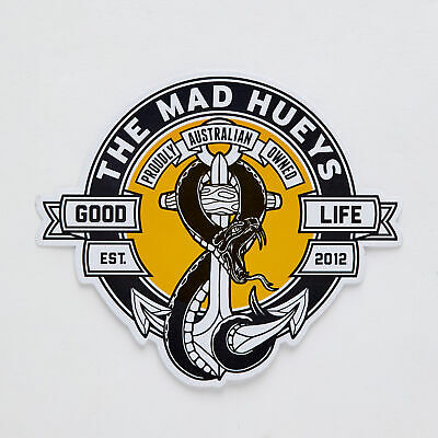 City Beach The Mad Hueys Snakes And Anchors Stickers