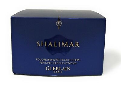 New Shalimar By Guerlain Paris Perfumed Dusting Powder 125g