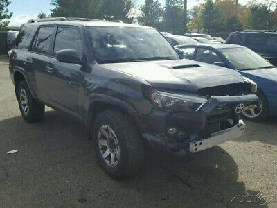 2015 Toyota 4Runner Trail 4x4 4dr SUV 2015 Toyota 4Runner Trail 4x4 4dr SUV Salvage, repairable, rebuildable , damage