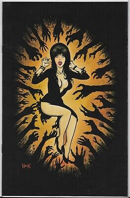 Elvira Mistress of the Dark #2 Variant Cover by Robert Hack