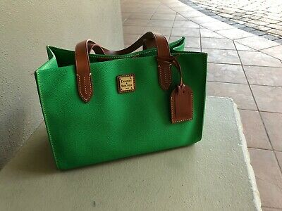 WOMENS DOONEY   Bourke Green Handbag Purse (In time for St Patrick s ... 6fd259b732375