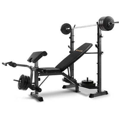 Everfit Multi-Station Weight Bench Press Fitness Equipment NEW