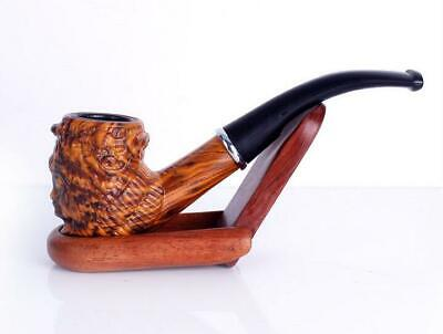 Handmade Durable Quality Resin Pipes Smoking Tobacco pipe Cigarette Pipes Gift