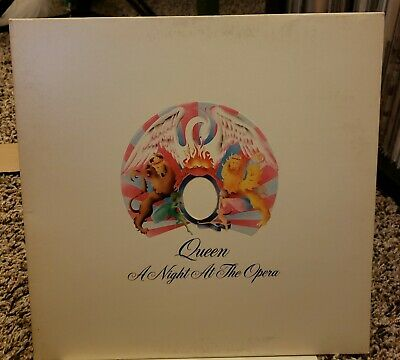 Queen ‎– A Night At The Opera LP Embossed Cover