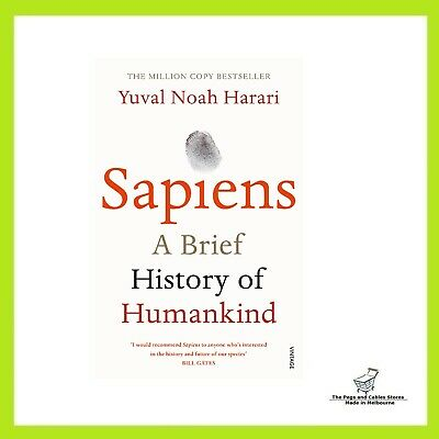 Sapiens: A Brief History of Humankind - Paperback