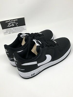 64c649efdd6f6f Nike Supreme CDG Comme Des Garcons Air Force 1 Low Black size 8.5 New  AR7623-