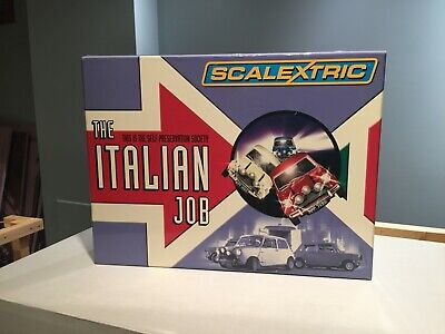 Rare Scalextric Slot Cars: The Italian Job Limited edition set of only 4000