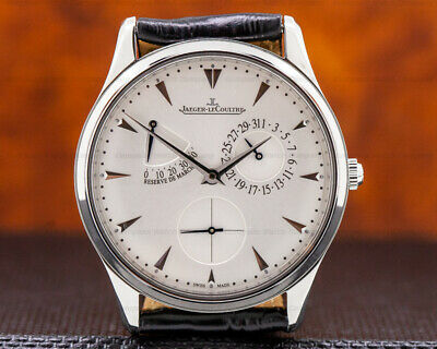 Jaeger LeCoultre Q1378420 Master Reserve de Marche SS NEW BOX AND PAPERS