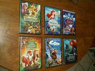 Awesome Disney Discs Like New Condition