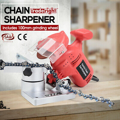 Traderight 220W Chainsaw Sharpener Tools Chain Saw Electric Grinder Pro Tool