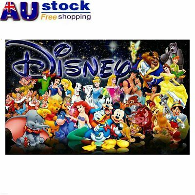 Disney Family Full Drill DIY 5D Diamond Painting Embroidery Cross Stitch MN